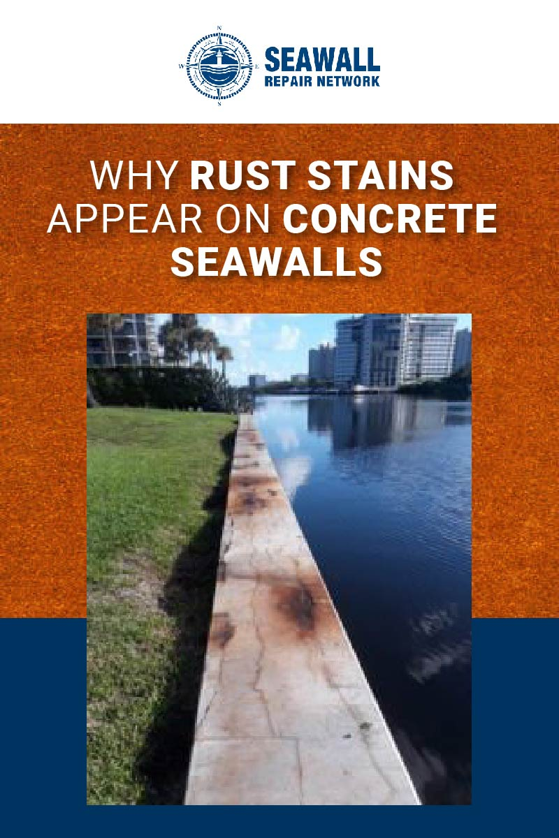 Body - Why Rust Stains Appear on Concrete Seawalls