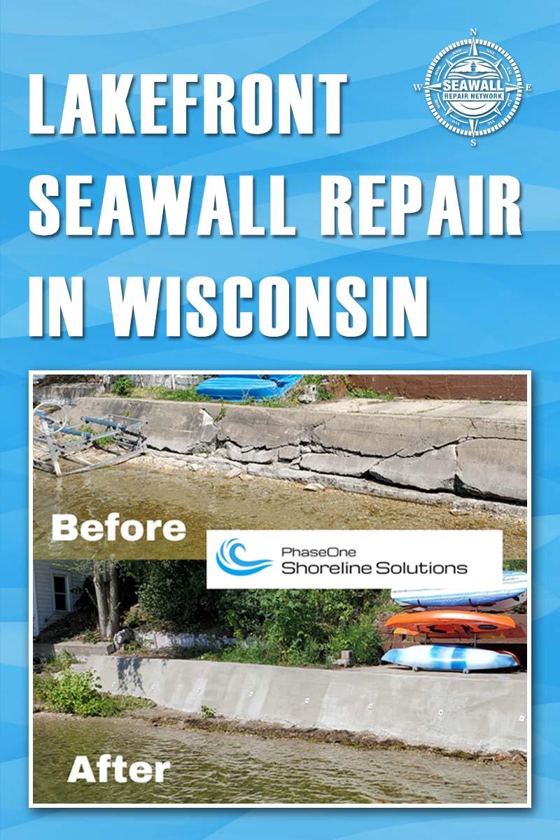 Body - Lakefront Seawall Repair in Wisconsin